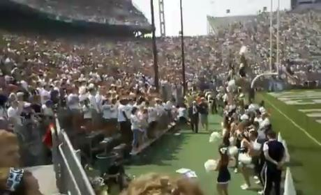 "Penn State Outlaws Playing of ""Sweet Caroline"" at Football Games"