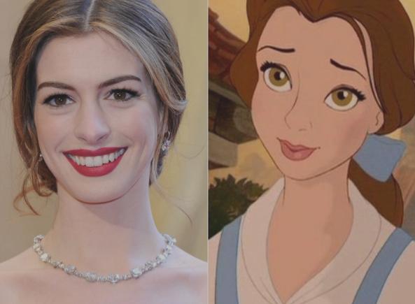 Anne Hathaway & Belle