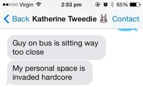 Girls Plot Fake Murder Via Text Message, Thwart Annoying Bus Snooper