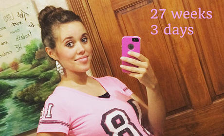 Jessa Duggar Baby Bump Photo: 27 Weeks, 3 Days & Counting!
