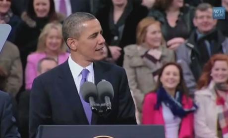 "Barack Obama Singing ""Sexy and I Know It"" by LMFAO"