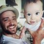 Justin Timberlake and Baby