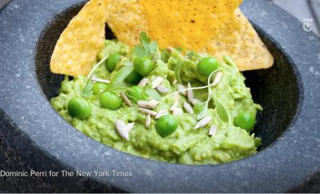 President Obama Aghast at Notion of Peas in Guacamole
