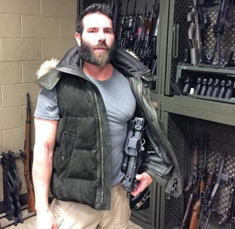 Dan Bilzerian With Giant Gun