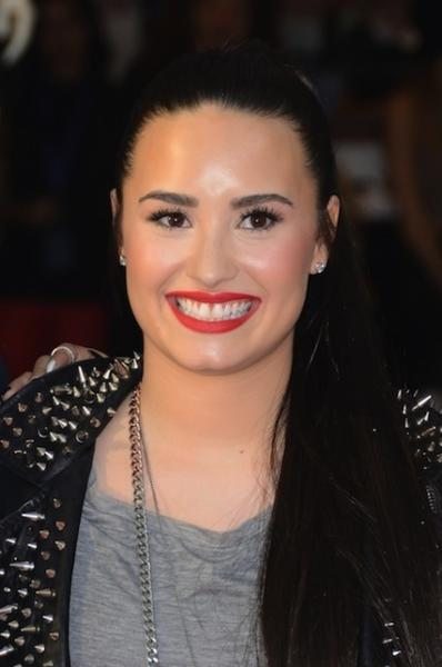 Demi Lovato with a Smile