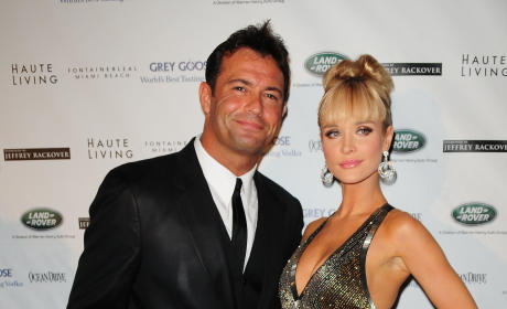 Joanna Krupa and Romain Zago Photo