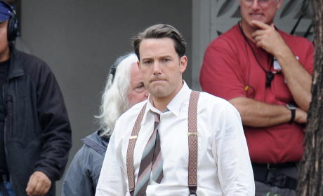 Ben Affleck Films 'Live by Night'