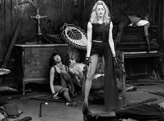 Madonna Gun Photo