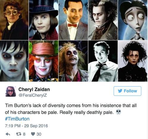 funny burton tweet