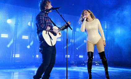 """Beyonce and Ed Sheeran Are """"Drunk in Love"""" in NYC"""