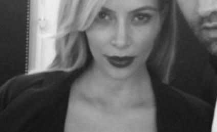 Kim Kardashian Cleavage Alert: WOWZA!