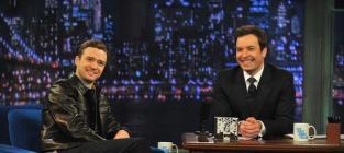 Justin Timberlake and Jimmy Fallon
