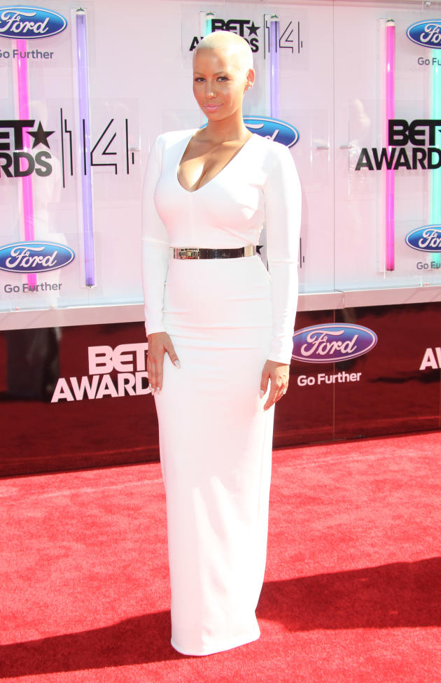 Amber Rose BET Awards Photo