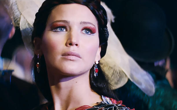 Jennifer Lawrence in Catching Fire