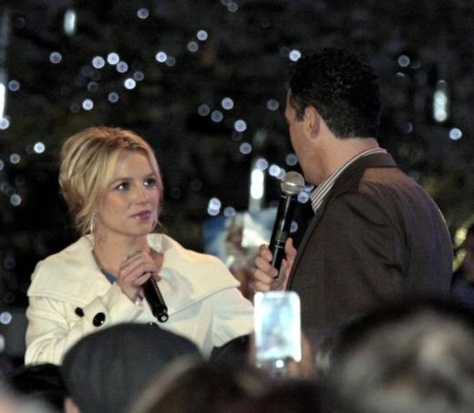 Adam Carolla and Britney Spears