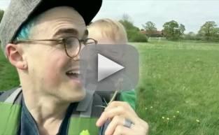 Kid CRACKS UP Over Dandelion