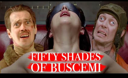 Fifty Shades of Buscemi Trailer: Christian Grey WHO?!