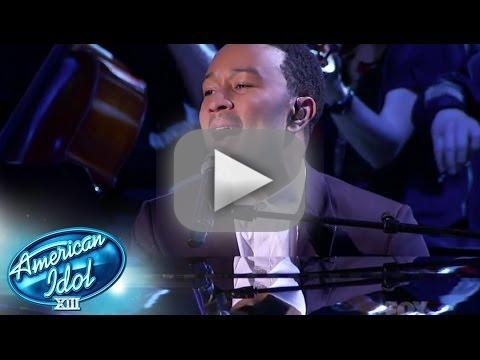 John Legend and Malaya Watson Duet