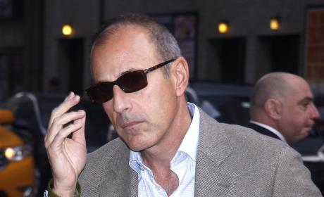 Matt Lauer Signs Long-Term Contract With Today