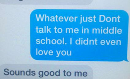 11-Year Old Dumps Boyfriend Via All-Time Text Message Exchange