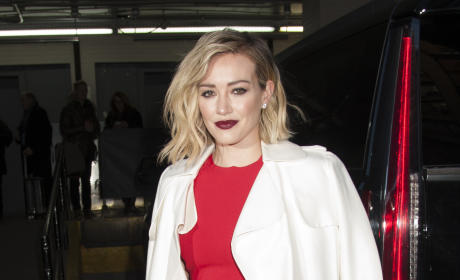 Hilary Duff Promotes 'Younger' at AOL Build