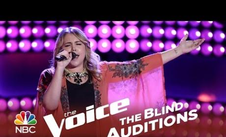 Taylor Brashears - You Ain't Woman Enough (The Voice Audition)