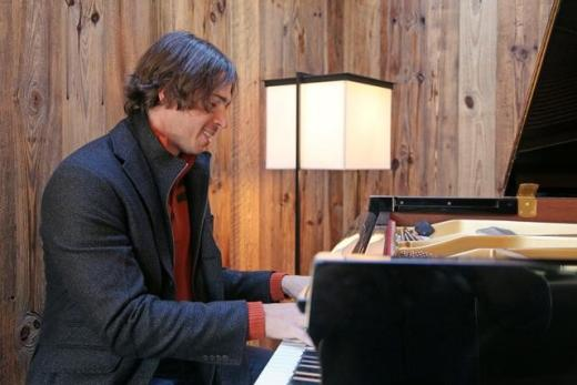 Ben Flajnik Playing Piano