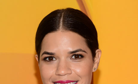 America Ferrera at the Upfronts