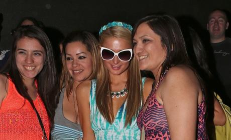 Paris Hilton at Coachella