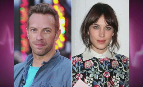 Chris Martin and Alexa Chung: Dating?!
