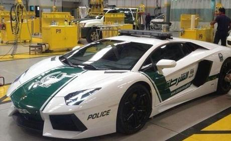 Police Lamborghini: Introduced in Dubai