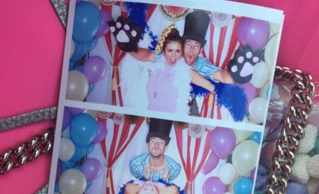 Austin Stowell and Nina Dobrev: See Their Photobooth Fun!