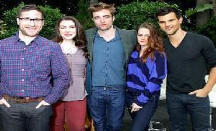 Robert Pattinson, Kristen Stewart and Taylor Lautner Talk Twilight Saga: Breaking Dawn - Part 2