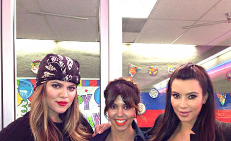 Khloe, Kourtney and Kim