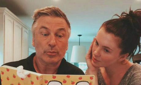 "Ireland Baldwin Jokes About Alec Baldwin Calling Her a ""Rude Pig"" When She Was 11: Funny or F--ked Up?"