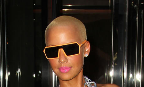 Amber Rose and Wiz Khalifa: Engaged!