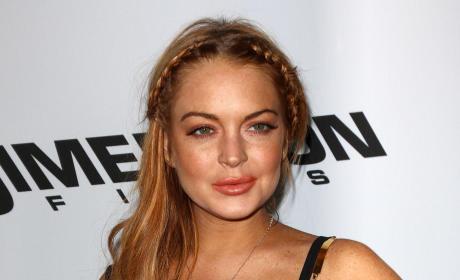 Lindsay Lohan at Film Premiere