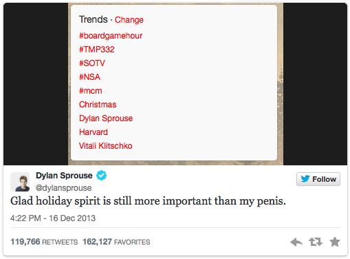 Sprouse Tweet