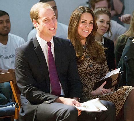 Kate Middleton With Husband