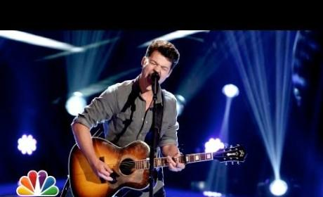 Matt Cermanski - Have a Little Faith in Me (The Voice Blind Audition)