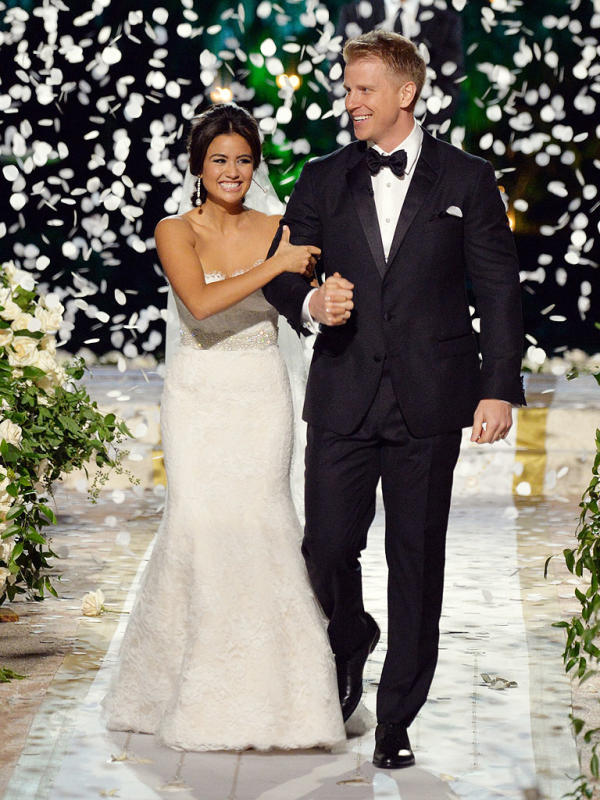 Catherine Giudici's Monique Lhuillier Wedding Dress