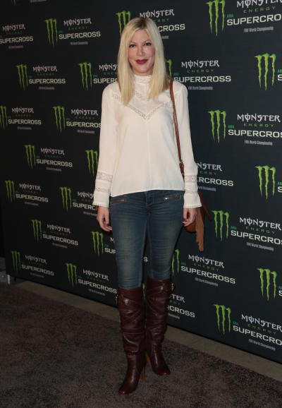 Tori Spelling: Monster Energy Supercross