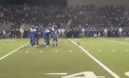 Texas High School Football Team Shocks Rival with AMAZING Final Play