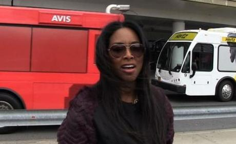 Kenya Moore Talks Porsha Williams Fight