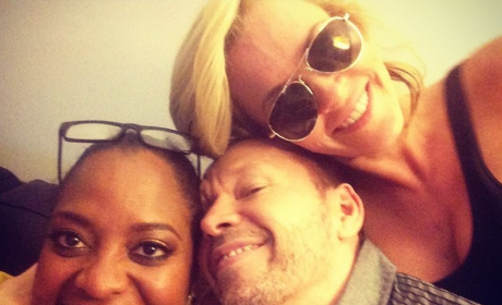 Sherri Shepherd, Jenny McCarthy and Donnie Wahlberg