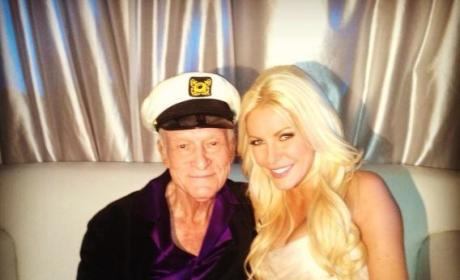 Hugh Hefner and Crystal Harris: Married!