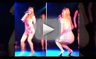 Paris Hilton: Orgasms in Front of Crowd