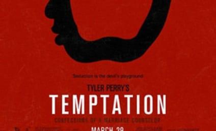 Kim Kardashian Teases Temptation Poster