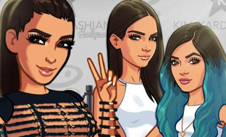 Kendall Jenner and Kylie Jenner Join Sister's Ridiculously Popular Video Game