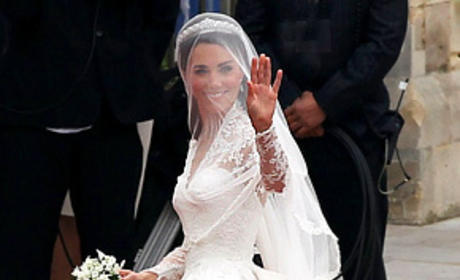 Kate Middleton's Wedding Dress: First Look!